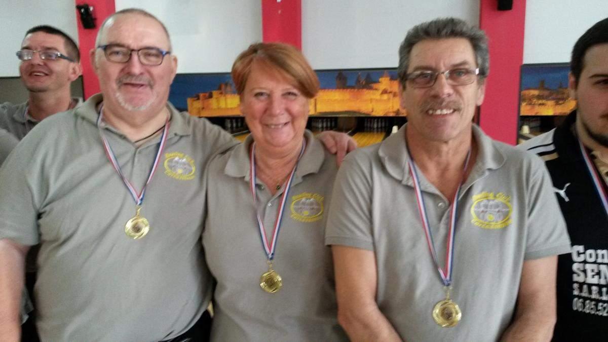 équipe 1 triplette mixte