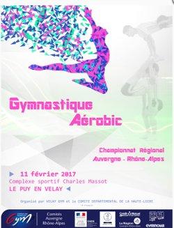 Championnat Regional de Gymnastique Aerobic au Puy En Velay.
