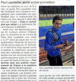 Paul au France Jeunes à Vittel