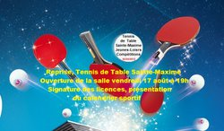 Tennis de Table Sainte-Maxime - Reprise