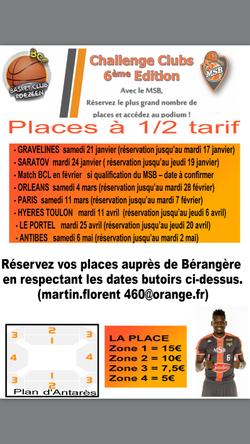 Place à 5€ MSB - Antibes 6Mai