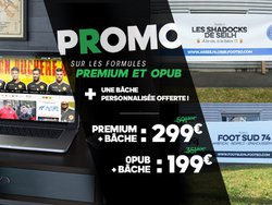 Offre promo Site+Bâche