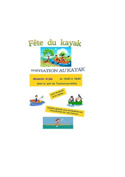 INITIATION AU KAYAK