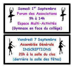 Forum des Associations + AG