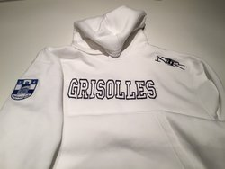 "Sweat Adulte Blanc ""Grisolles"""