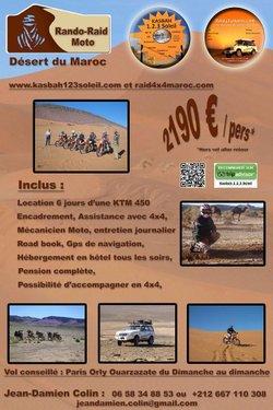 Des Normands du club HMV au Maroc