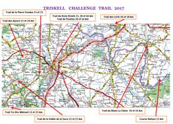 TRISKELL   CHALLENGE  TRAIL  2017