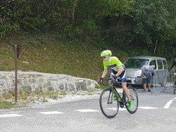 Le CLM de Lechaux support des championnats des Savoies