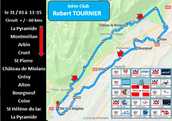 REPROGRAMMATION SORTIE INTER CLUBS ROBERT TOURNIER AU 31/03
