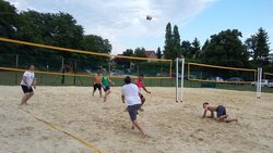 Jeudi 6 juil : Beach volley à St-Thierry