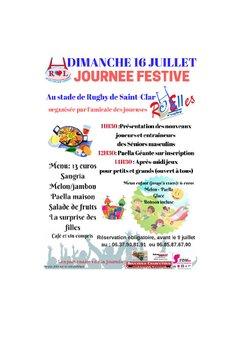 Paella géante organisée par le RC'Elles