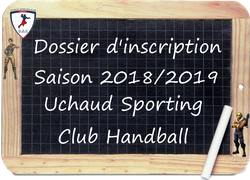DOSSIER D'INSCRIPTION SAISON 2018/2019