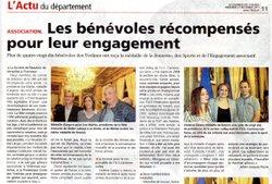 """Vu dans """"Le Courrier des Yvelines"""" !"""