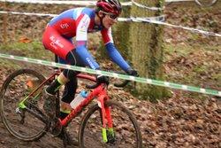 Hugo Vainqueur en Junior, Killian Vainqueur en cadet et Adrien 2ème au Cyclo Cross de Coudray