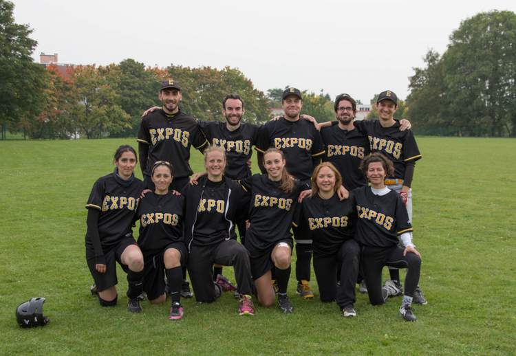 Expos Softball Mixte