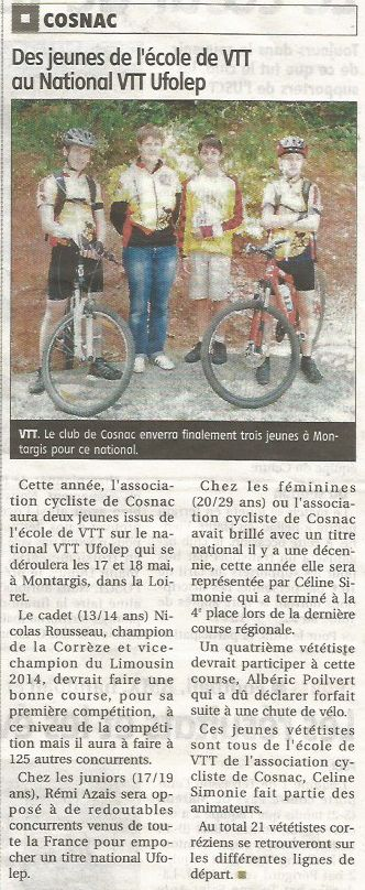 article national vtt 2014
