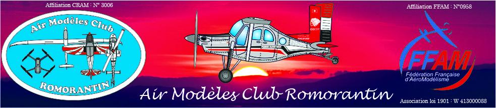 Air Modèles Club Romorantin : site officiel du club d'aéromodelisme de Romorantin-Lanthenay - clubeo