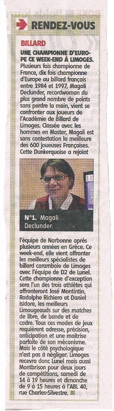 Article Le Populaire du centre