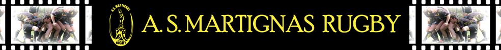 Site Internet officiel du club de rugby Association Sportive Martignas Rugby