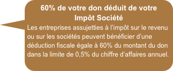 reduc fisc 60%