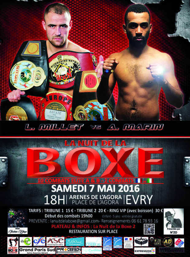 Club de boxe colombes