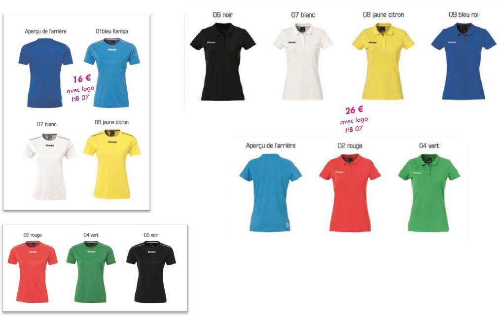 Les T-shirts Femme…à vos couleurs!!.JPG