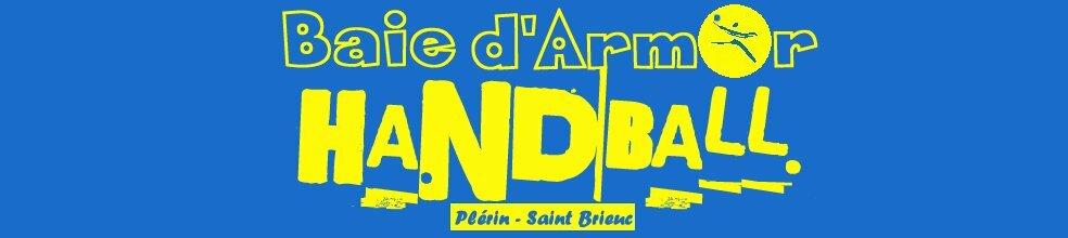 BAIE d'ARMOR HANDBALL Plérin St Brieuc : site officiel du club de handball de PLERIN - clubeo