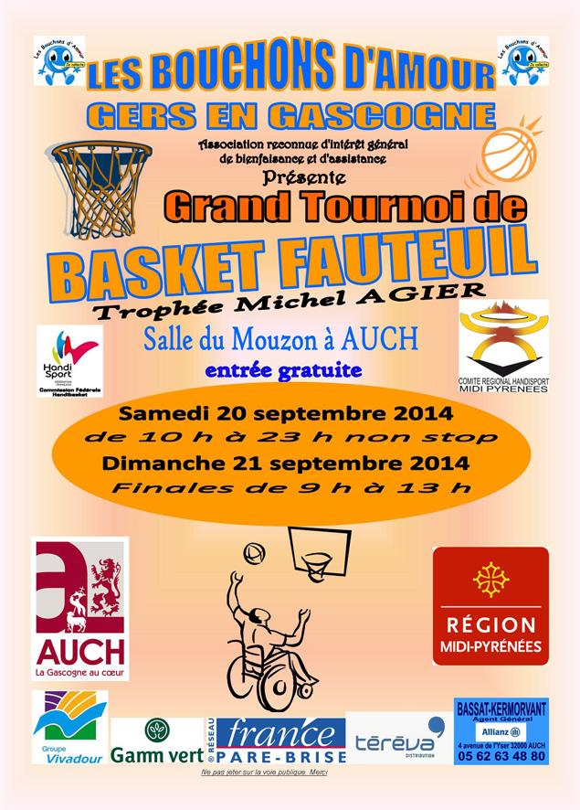 affiche tournoi AUCH 2014