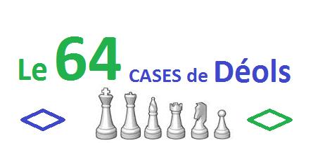 Le 64 CASES de Déols : site officiel du club d'échec de Déols (36) - clubeo
