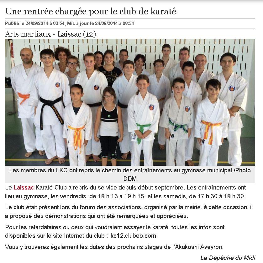 club de karate 34