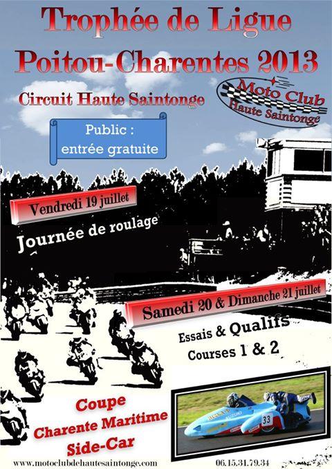 2nd manche du Trophée de Ligue Poitou-Charentes 2013