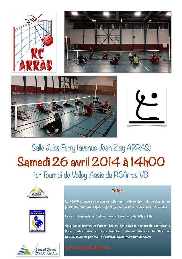 Tournoi Volley Assis