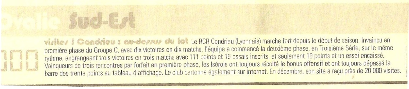 Article du midi olympique mars 2014