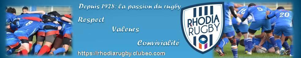 RHODIA CLUB RUGBY : site officiel du club de rugby de SALAISE SUR SANNE - clubeo