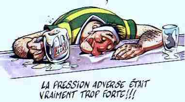 pression adverse