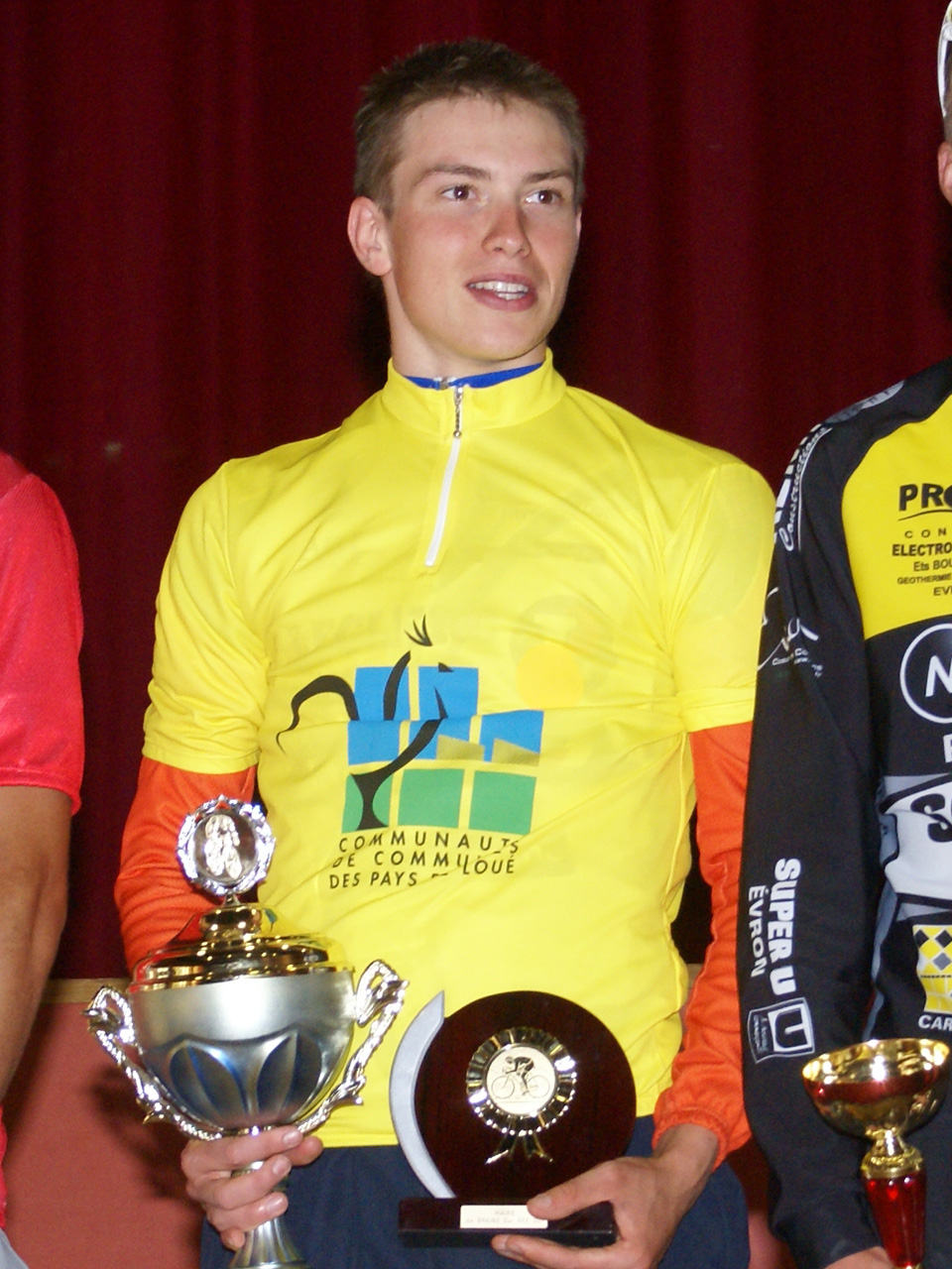 Nicolas Riou maillot Jaune