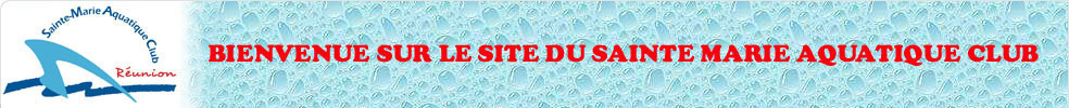 SAINTE MARIE AQUATIQUE CLUB : site officiel du club de natation de STE MARIE - clubeo