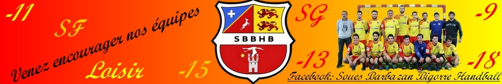 Soues Barbazan Bigorre hb : site officiel du club de handball de SOUES - clubeo