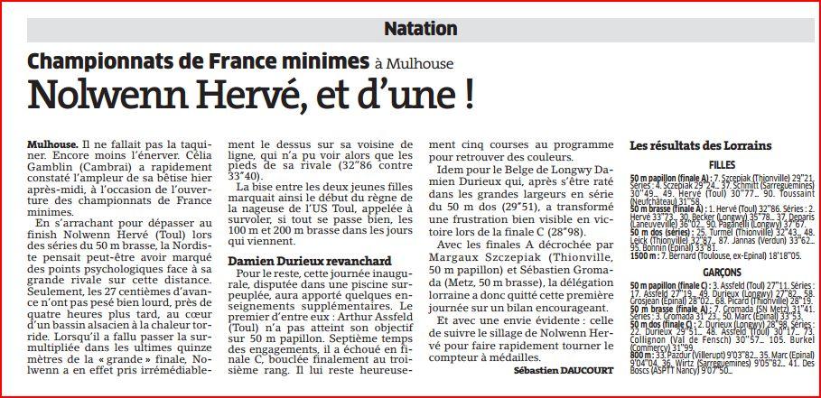 France Minimes