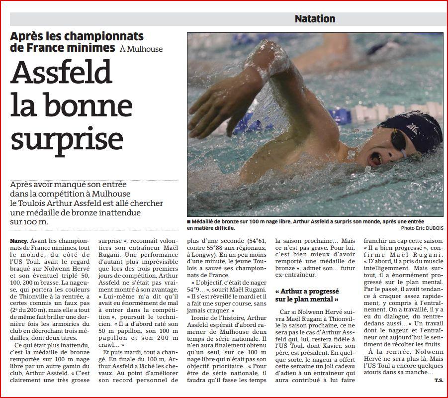 France Minimes / Arthur Assfeld