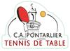logo du club CA Pontarlier Tennis de Table