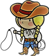 logo du club LES COWGIRL UP