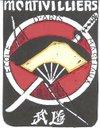 logo du club école d'arts martiaux de montivilliers