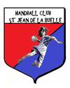 logo du club handballclub st jean de la ruelle