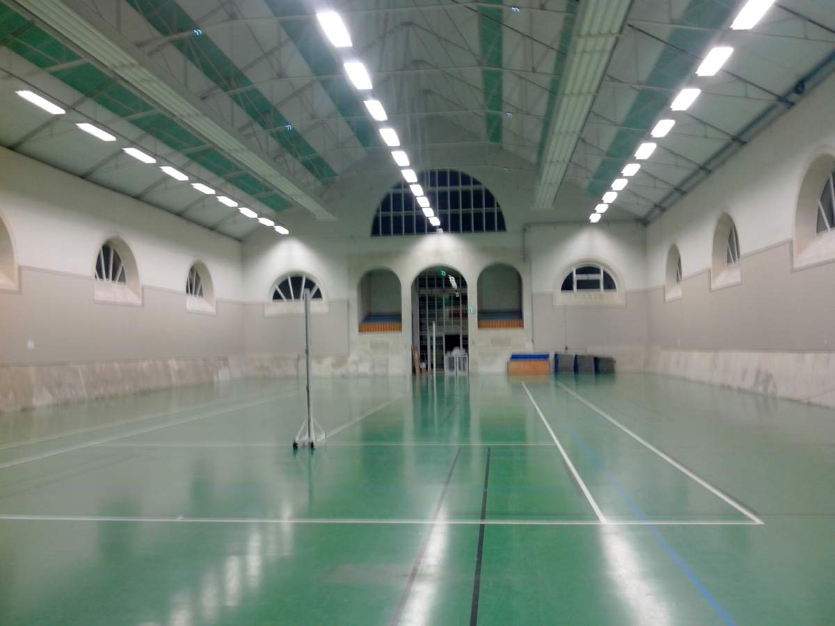 salle gymnase le man ge etat major club volley ball. Black Bedroom Furniture Sets. Home Design Ideas