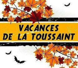 Stage des vacances de la Toussaint - 22 au 26 octobre