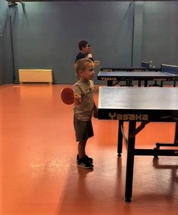 AS Maxime tennis de table  - Charly