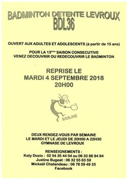 Reprise saison 2018-2018