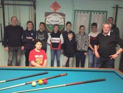 Photo de l'initiation des ados de fecamp service jeunesse et sport fecamp de 12 à 17 ans 9 présents le 24 février 2020