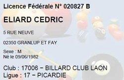 Cédric ELIARD